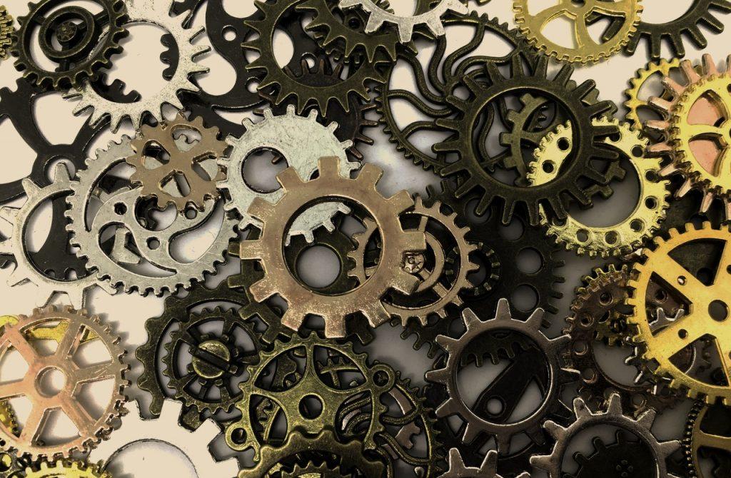 gears turning gears